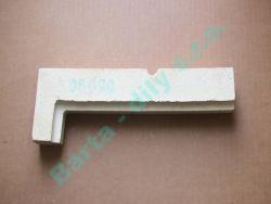 Šamot díl 6 ID 5981060 přední horní tvar L